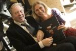 """samen met Jan Hoogstad, projectleider van UTwente bij presentatie van het boek """"de Nieuwe Campus"""" te Enschede"""